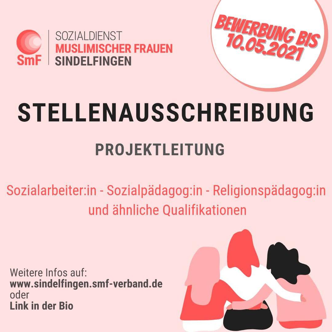 Stellenausschreibung: Projektleitung Standort Sindelfingen